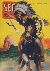Cover Thumbnail for Seriemagasinet (Serieforlaget / Se-Bladene / Stabenfeldt, 1951 series) #4/1957