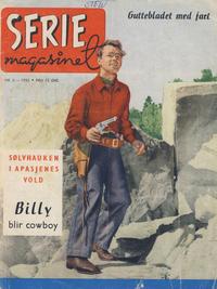 Cover Thumbnail for Seriemagasinet (Serieforlaget / Se-Bladene / Stabenfeldt, 1951 series) #6/1955