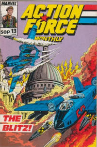 Cover Thumbnail for Action Force Monthly (Marvel UK, 1988 series) #13