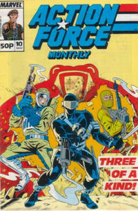 Cover Thumbnail for Action Force Monthly (Marvel UK, 1988 series) #10
