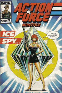 Cover Thumbnail for Action Force Monthly (Marvel UK, 1988 series) #9