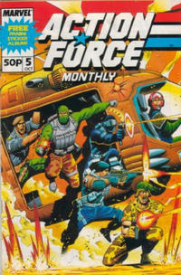 Cover for Action Force Monthly (Marvel UK, 1988 series) #5