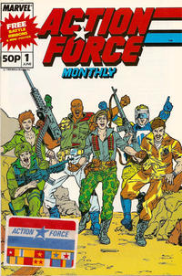 Cover Thumbnail for Action Force Monthly (Marvel UK, 1988 series) #1