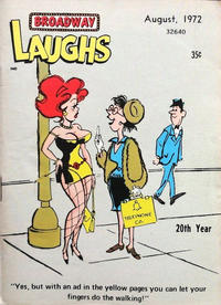 Cover Thumbnail for Broadway Laughs (Prize, 1950 series) #v11#7