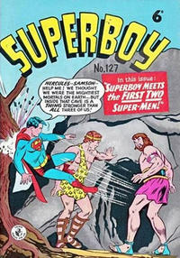 Cover Thumbnail for Superboy (K. G. Murray, 1949 series) #127