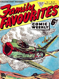 Cover Thumbnail for Family Favourites (L. Miller & Son, 1954 series) #20