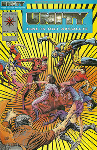 Cover Thumbnail for Unity (Acclaim / Valiant, 1992 series) #1 [Platinum Edition]