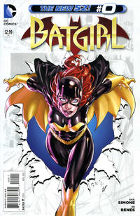 Cover Thumbnail for Batgirl (DC, 2011 series) #0