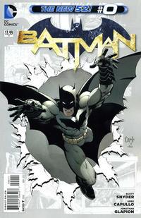 Cover Thumbnail for Batman (DC, 2011 series) #0 [Greg Capullo Cover]