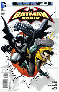 Cover Thumbnail for Batman and Robin (DC, 2011 series) #0