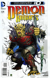 Cover Thumbnail for Demon Knights (DC, 2011 series) #0