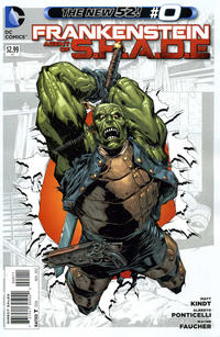 Cover Thumbnail for Frankenstein, Agent of S.H.A.D.E. (DC, 2011 series) #0