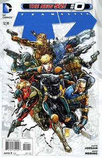Cover Thumbnail for Team 7 (DC, 2012 series) #0