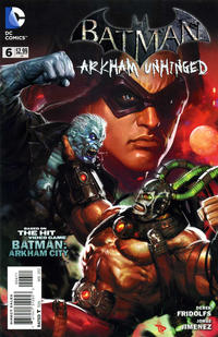 Cover Thumbnail for Batman: Arkham Unhinged (DC, 2012 series) #6