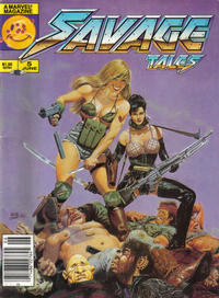 Cover Thumbnail for Savage Tales (Marvel, 1985 series) #5 [Newsstand]