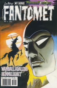 Cover Thumbnail for Fantomet (Hjemmet / Egmont, 1998 series) #11/2003