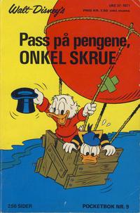 Cover Thumbnail for Donald Pocket (Hjemmet / Egmont, 1968 series) #9 - Pass på pengene, onkel Skrue [1. opplag]