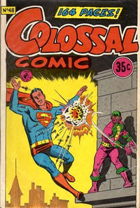 Cover Thumbnail for Colossal Comic (K. G. Murray, 1958 series) #48