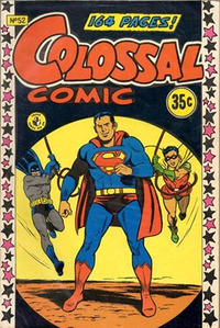 Cover Thumbnail for Colossal Comic (K. G. Murray, 1958 series) #52