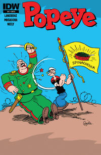 Cover Thumbnail for Popeye (IDW, 2012 series) #4