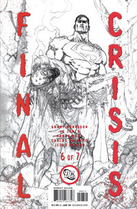 Cover Thumbnail for Final Crisis (DC, 2008 series) #6 [Second Printing]