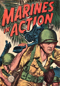Cover Thumbnail for Marines in Action (Horwitz, 1953 series) #12