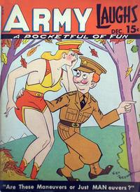 Cover Thumbnail for Army Laughs (Prize, 1941 series) #v1#10