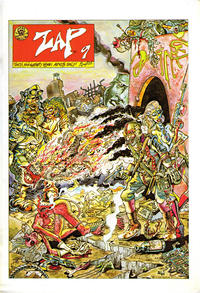 Cover Thumbnail for Zap Comix (Last Gasp, 1982 ? series) #9 [5th print- 4.95 USD]