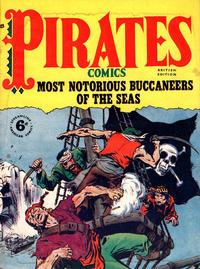 Cover Thumbnail for Pirates Comics (Streamline, 1950 series) #4
