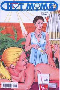Cover Thumbnail for Hot Moms (Fantagraphics, 2003 series) #12
