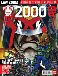Cover Thumbnail for 2000 AD (Rebellion, 2001 series) #1800