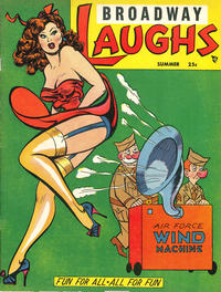 Cover Thumbnail for Broadway Laughs (Prize, 1950 series) #v9#3