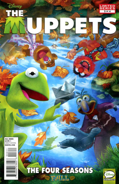 Cover for Muppets (Marvel, 2012 series) #3