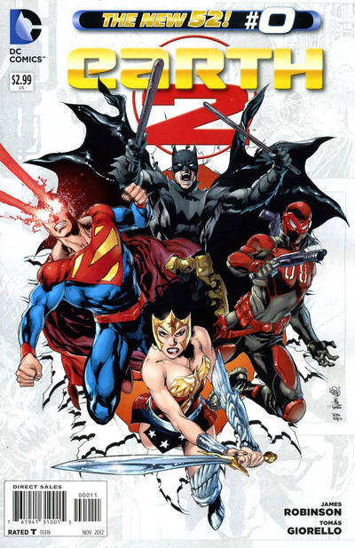 Cover for Earth 2 (DC, 2012 series) #0