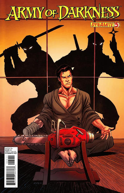 Cover for Army of Darkness (Dynamite Entertainment, 2012 series) #5
