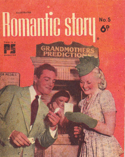 Cover for Illustrated Romantic Story for Young Women (Cleland, 1949 ? series) #5