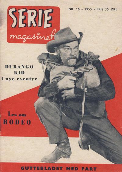 Cover for Seriemagasinet (Serieforlaget / Se-Bladene / Stabenfeldt, 1951 series) #16/1955