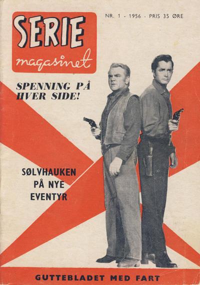 Cover for Seriemagasinet (Serieforlaget / Se-Bladene / Stabenfeldt, 1951 series) #1/1956