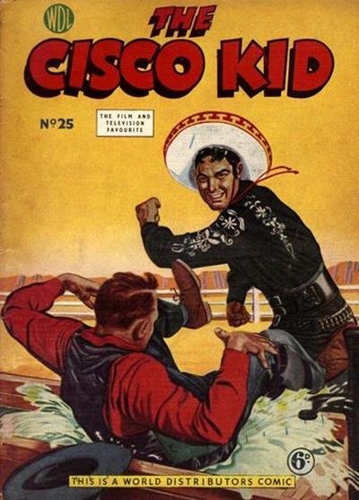 Cover for Cisco Kid (World Distributors, 1952 series) #25