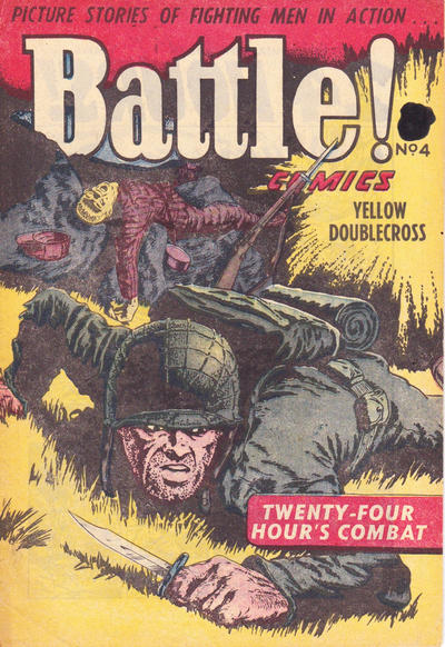 Cover for Battle! Comics (Horwitz, 1953 ? series) #4