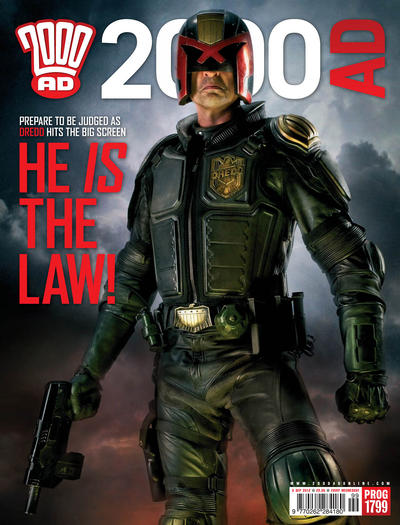 Cover for 2000 AD (Rebellion, 2001 series) #1799