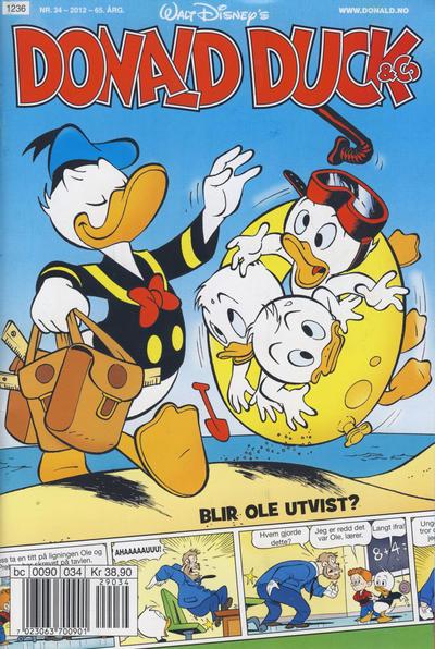 Cover for Donald Duck & Co (Hjemmet / Egmont, 1948 series) #34/2012