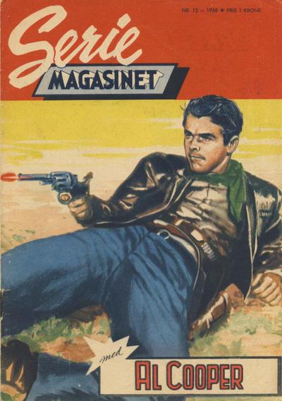 Cover for Seriemagasinet (Serieforlaget / Se-Bladene / Stabenfeldt, 1951 series) #12/1958