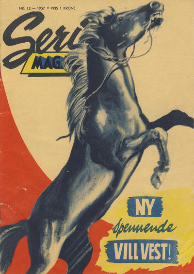 Cover for Seriemagasinet (Serieforlaget / Se-Bladene / Stabenfeldt, 1951 series) #12/1957