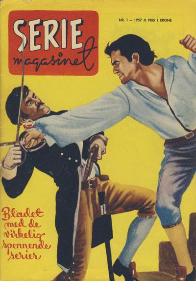 Cover for Seriemagasinet (Serieforlaget / Se-Bladene / Stabenfeldt, 1951 series) #1/1957