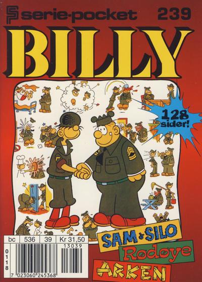 Cover for Serie-pocket (Hjemmet / Egmont, 1998 series) #239