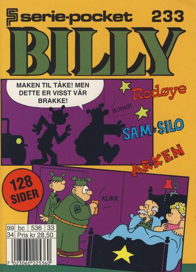 Cover for Serie-pocket (Hjemmet / Egmont, 1998 series) #233