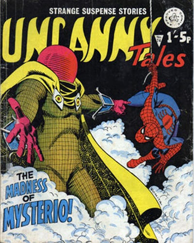 Cover for Uncanny Tales (Alan Class, 1963 series) #74