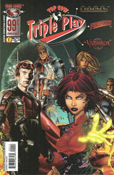 Cover for Top Cow Triple Play (Image, 2005 series) #1