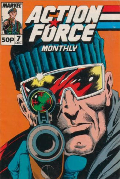 Cover for Action Force Monthly (Marvel UK, 1988 series) #7